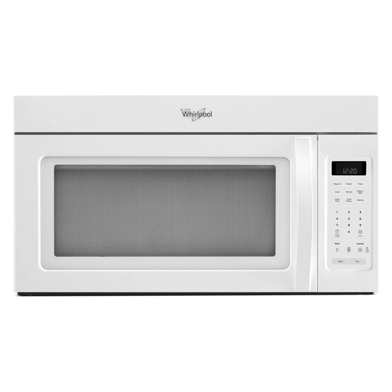 Whirlpool 174 1 7 Cu Ft Over The Range Microwave With