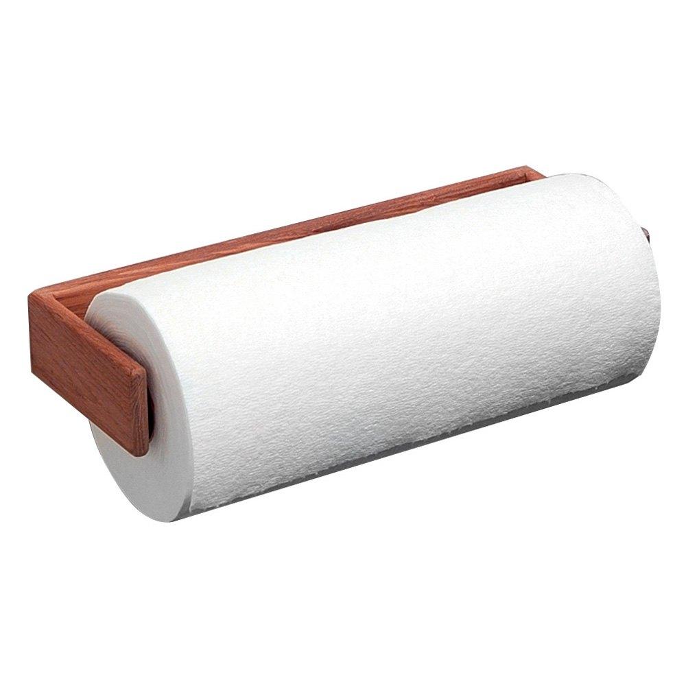 Whitecap® 62442 - Teak Wall-Mount Paper Towel Holder