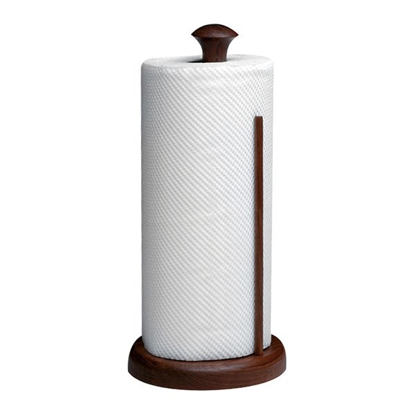 Whitecap® 62444 - Teak Stand-Up Paper Towel Holder