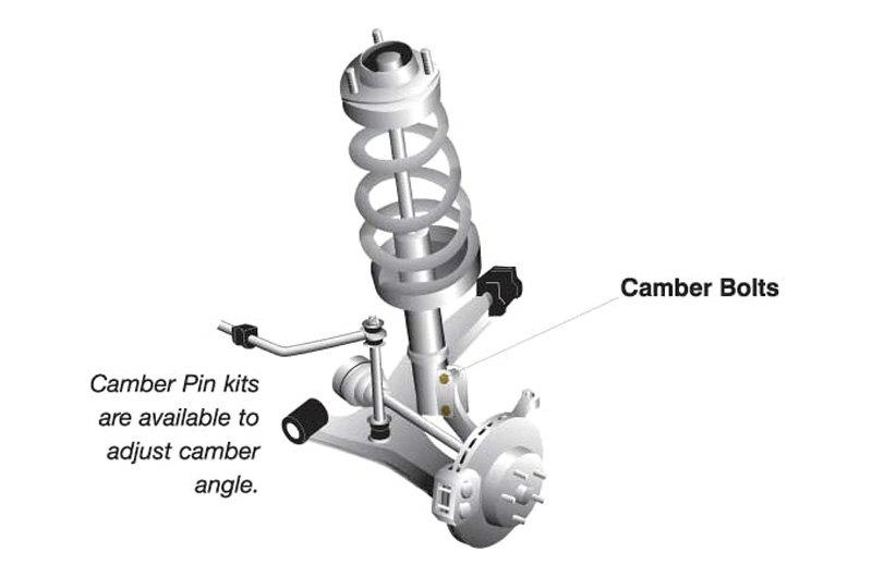 Whiteline® KCA414 - Camber Adjustment Bolt Kit