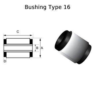 Whiteline KCA329 Rear Control Arm Bushing
