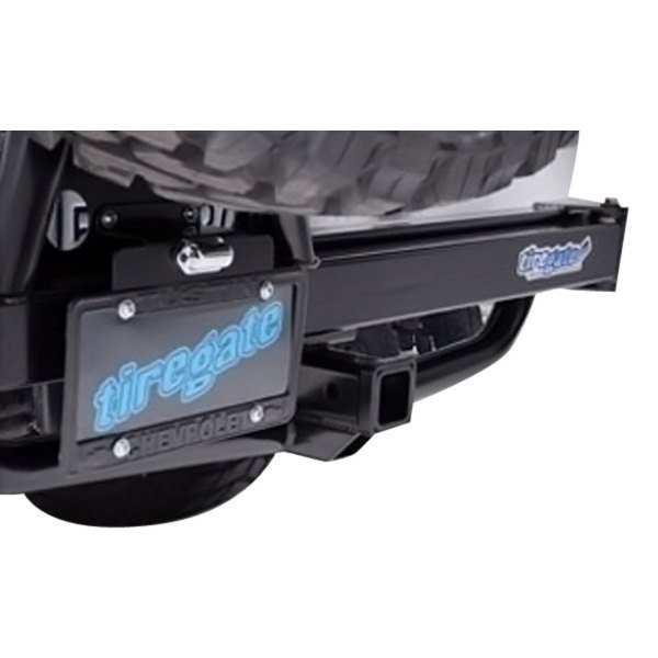 Hitchgate™ Black License Plate
