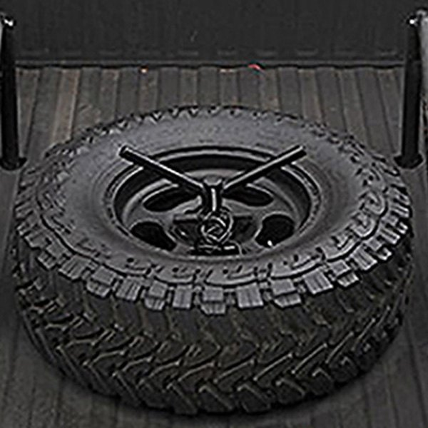 Wilco Offroad 174 Ubm3030 Black Flat Bed Mount Tire Carrier