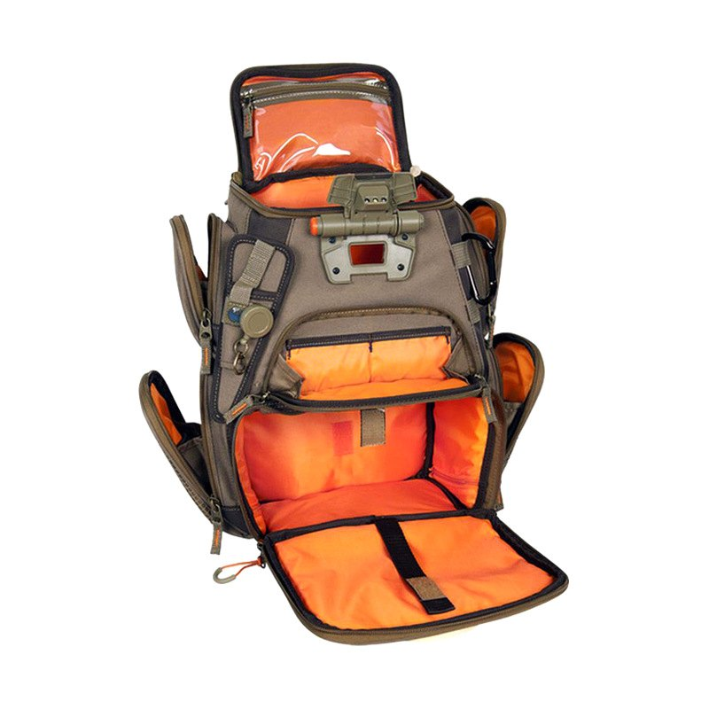 Wild river wn3503 recon tackle backpack small lighted for Fishing tackle backpack