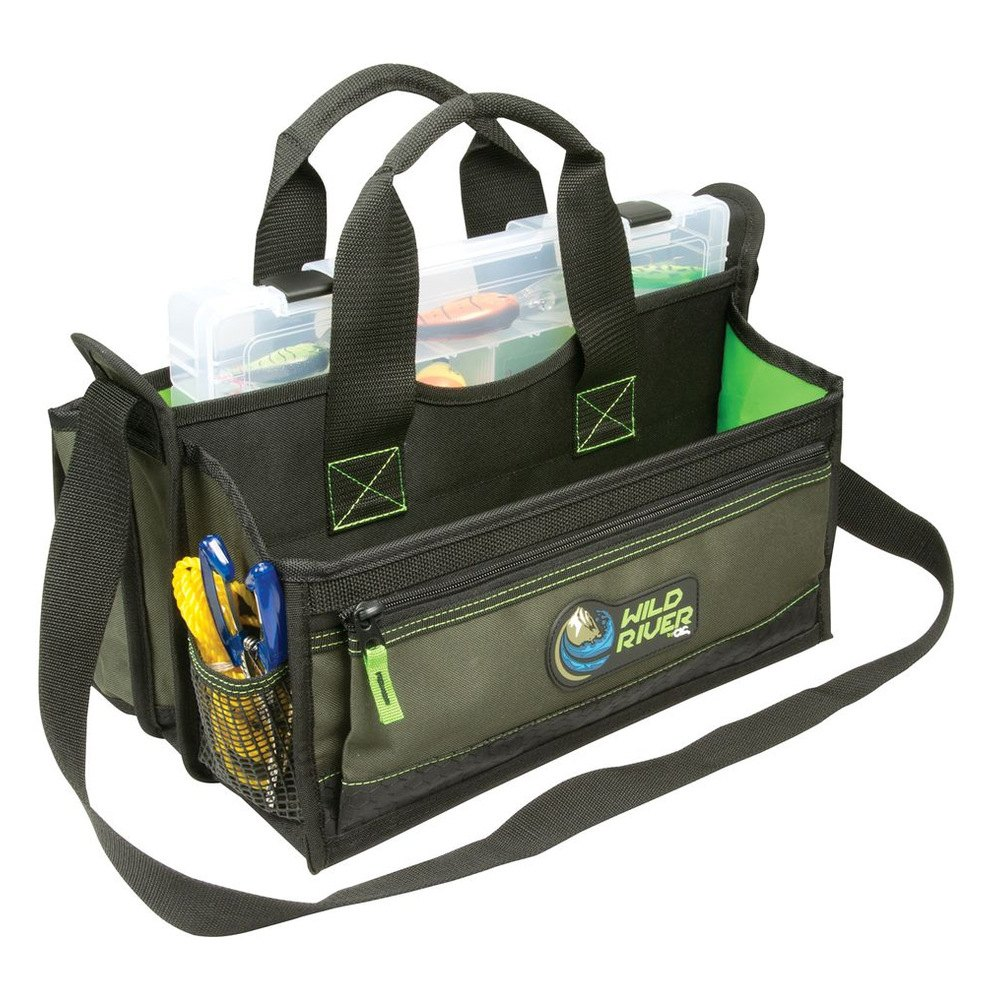 Wild river wt3729 multi tackle open top bag for Fishing bags walmart