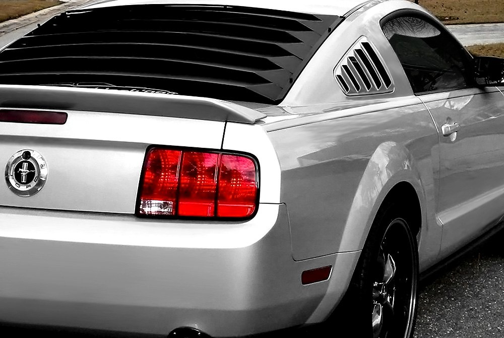 Willpak window louvers scoops spoilers for 1970 mustang rear window louvers