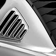 Willpak® - Rear Window Louver and Scoop