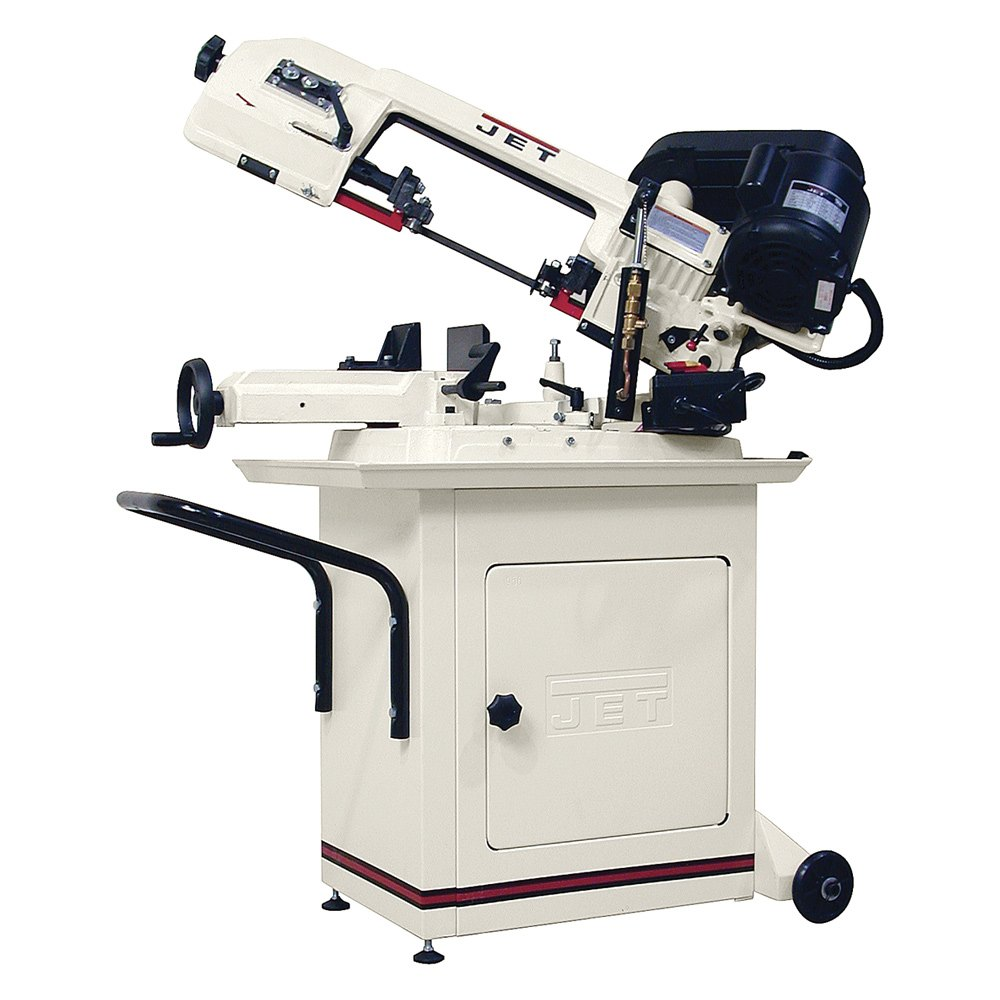 Jet tools 414457 jet hbs 56s horizontal swivel head bandsaw Band saw table