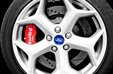 Wilwood® - Forged Narrow Superlite 4R Brake Kit on Ford Focus ST