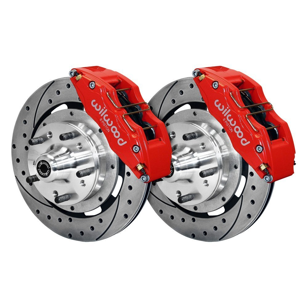 Performance Brake Calipers : Wilwood dr street performance drilled and