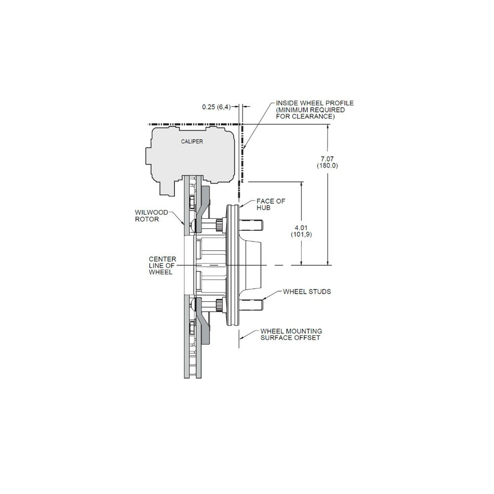 wilwood brake system diagram