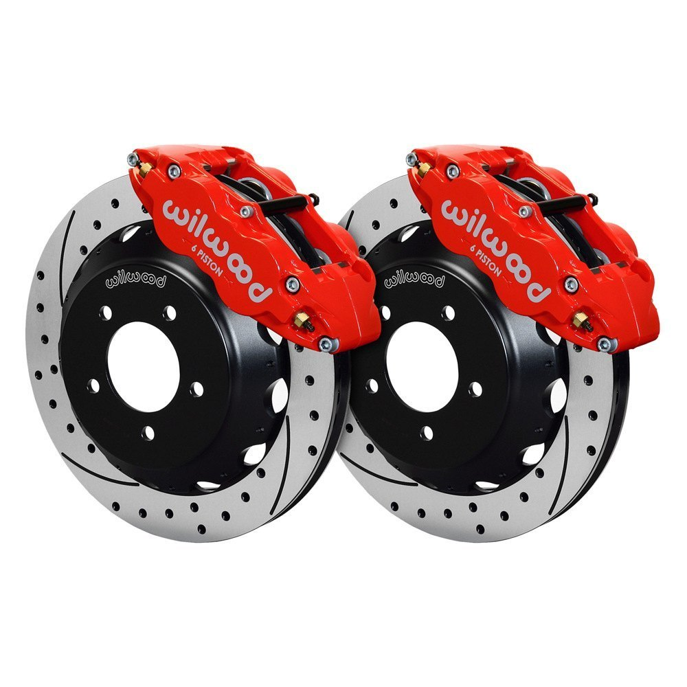 Performance Brake Calipers : Wilwood mazda rx street performance drilled and