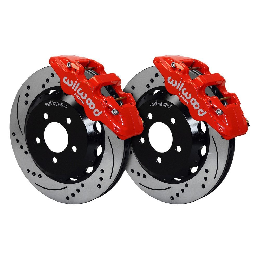 Performance Brake Calipers : Wilwood pontiac g street performance drilled and