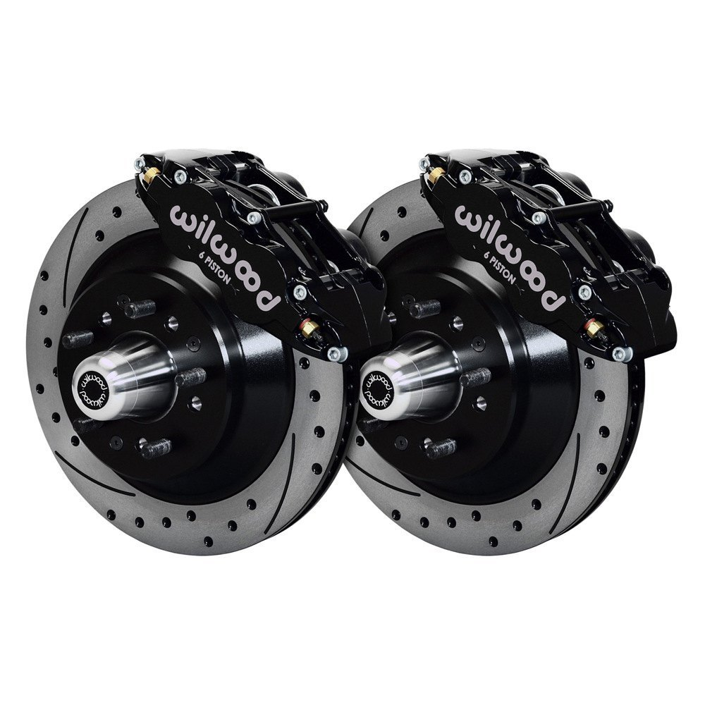 Performance Brake Calipers : Wilwood d street performance drilled and