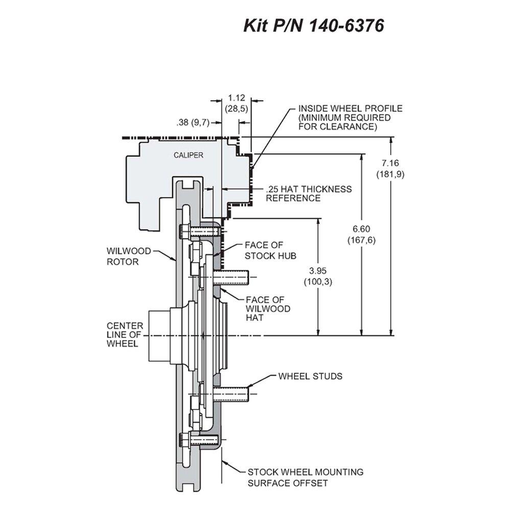 2001 Pt Cruiser Front Hub Diagram Data Schema Engine Wilwood U00ae Chrysler 2002 Street Timing Belt