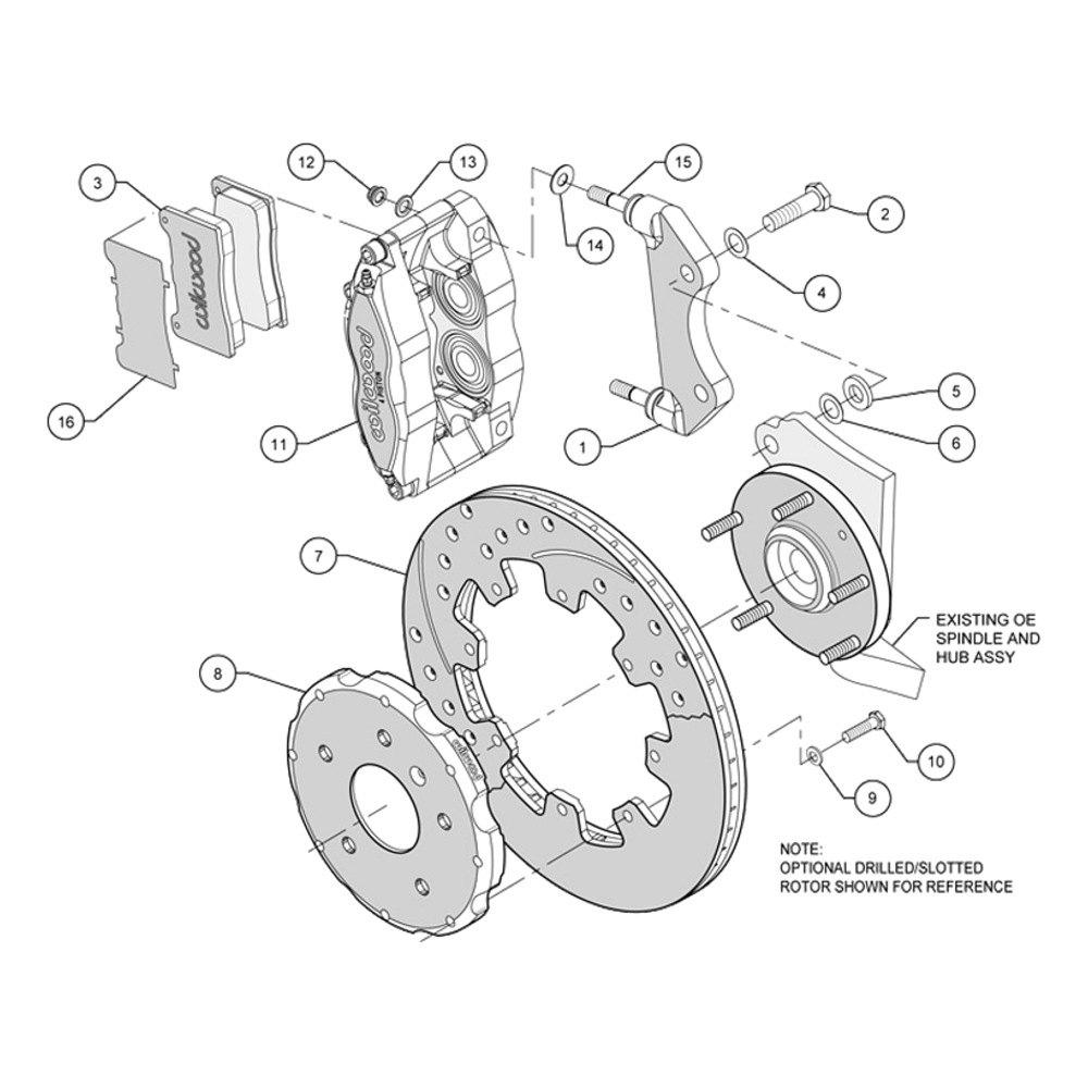 2000 Jetta Rear Caliper Diagram Wiring Diagrams Brake Wilwood U00ae Volkswagen With 15 Quot Wheels Street Disc