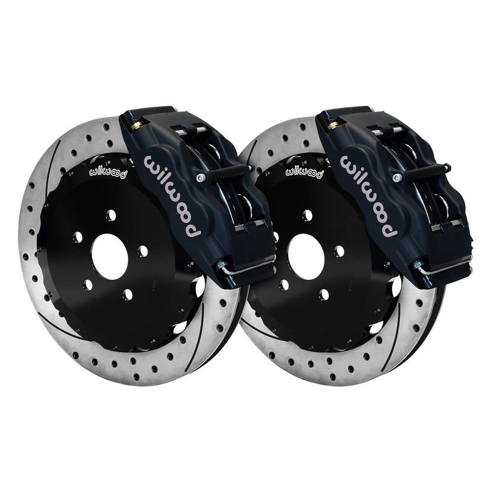 Performance Brake Calipers : Wilwood scion tc street performance drilled and