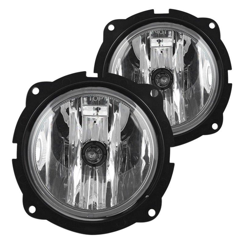 2007-2012 Ford Escape Fog Lights Clear Lamp Bulbs Wiring ...