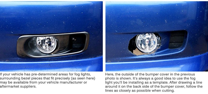Spyder fog lights installation and adjustment install your mounting brackets to the bumper cover with hardware included in the kit then connect wiring as discussed earlier in the article publicscrutiny Images