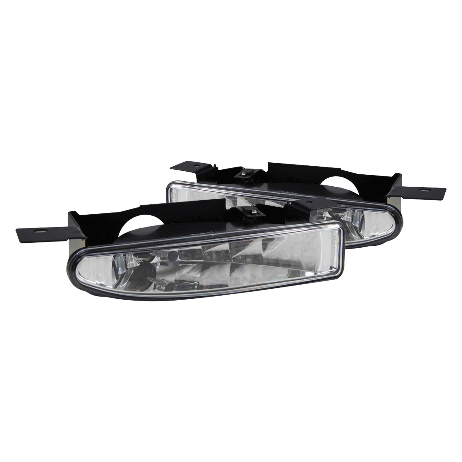 Winjet Driver And Penger Side Factory Style Fog Lights