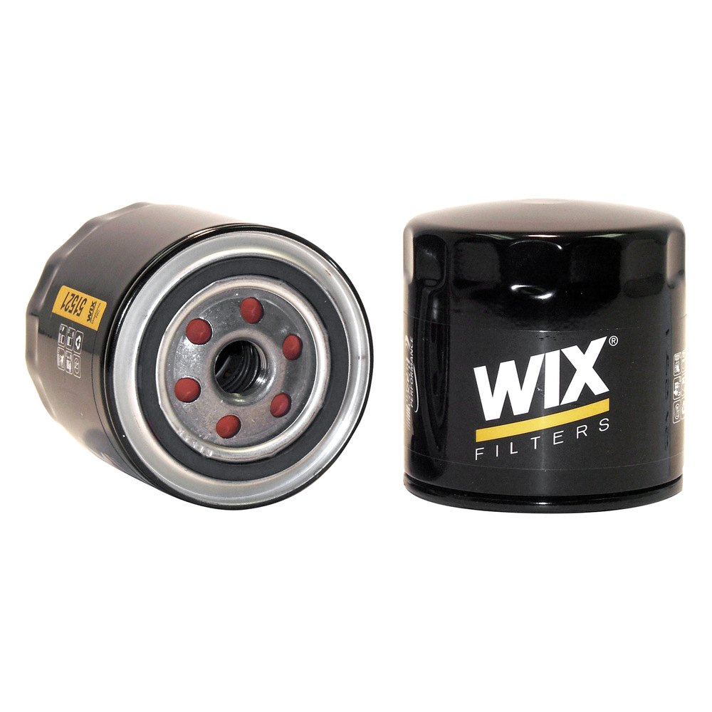 Wix 51521 Oil Filter 1988 Nissan D21 Pickup Fuel Enhanced Cellulose Spin On Lube