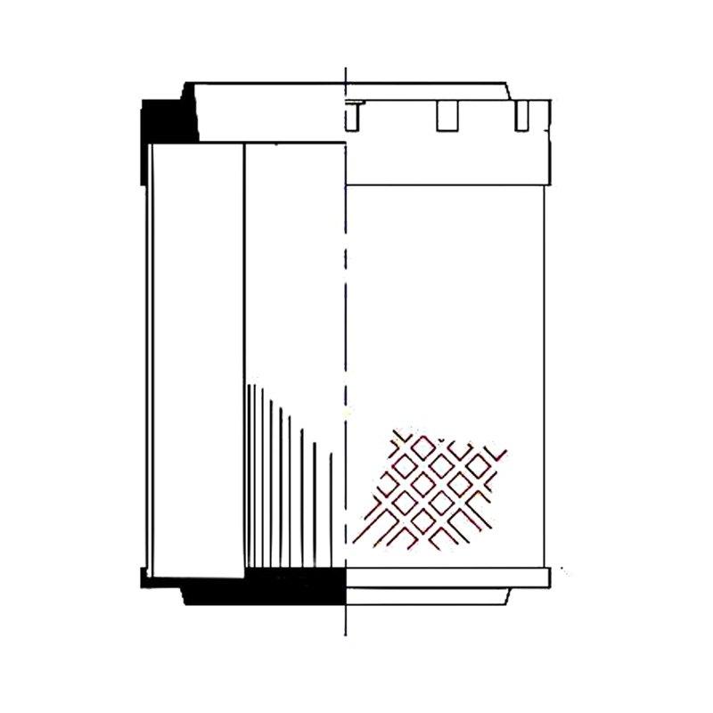 wix u00ae k61b091 - industrial hydraulics compressed air filter cartridge