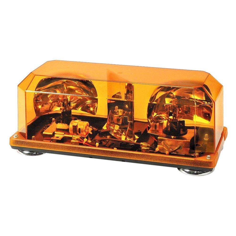 Wolo priority 1 mini rotating halogen beacon light bar wolo priority 1 magnet mount mini rotating amber halogen beacon light bar aloadofball Gallery