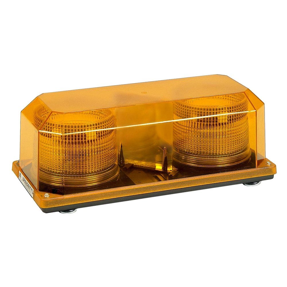 Wolo 2 strobe priority 2 strobe beacon light bar wolo priority 2 magnet mount strobe amber beacon light bar aloadofball Gallery