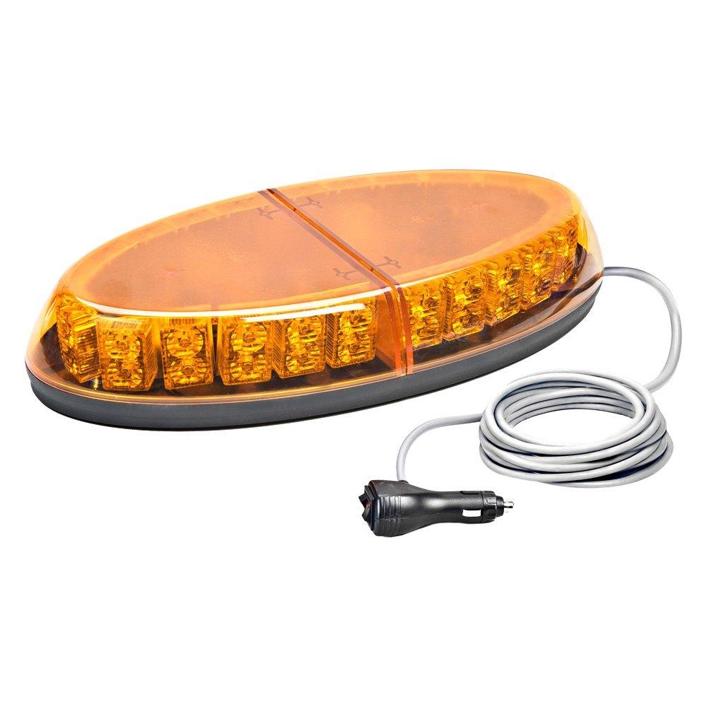 wolo lighting. Wolo® - 3-LED Beyond™ GEN 3 Magnet Mount Mini Low Profile Amber Wolo Lighting K