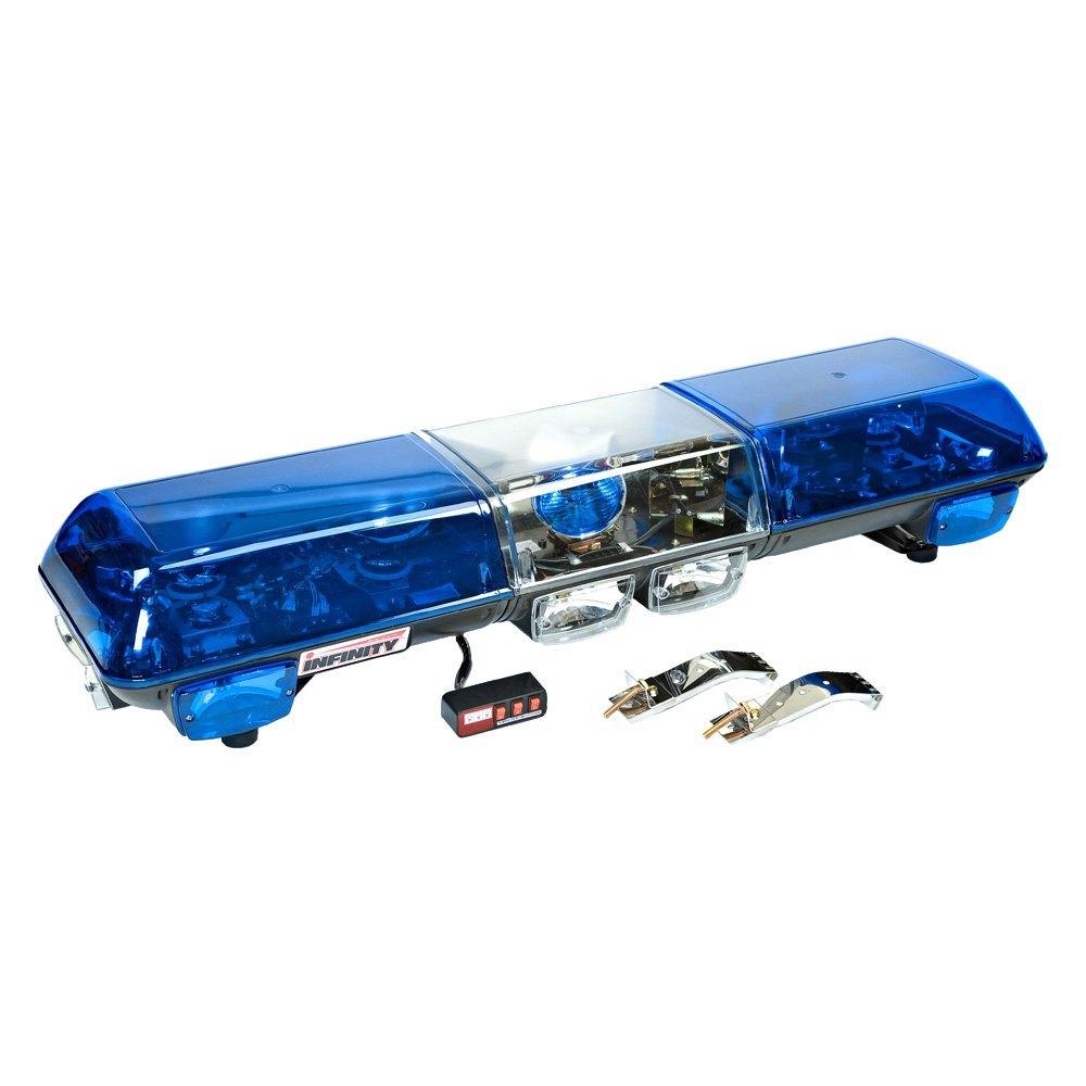 Wolo 7005 b infinity 1 blue halogen emergency light bar wolo infinity 1 blue halogen emergency light bar aloadofball Gallery