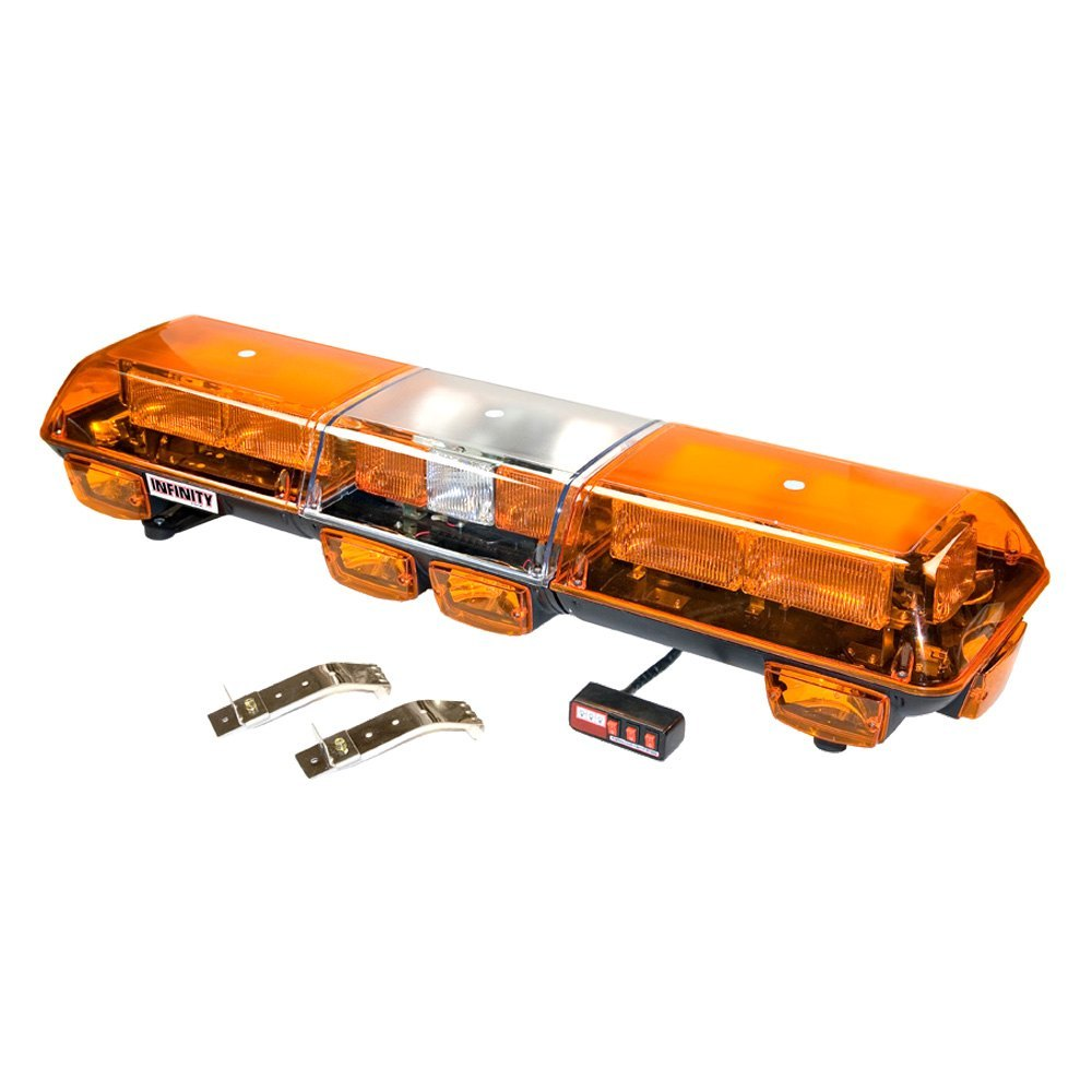 wolo lighting. Modren Lighting Wolo  Infinity 2 Amber Emergency LED Light Bar In Wolo Lighting