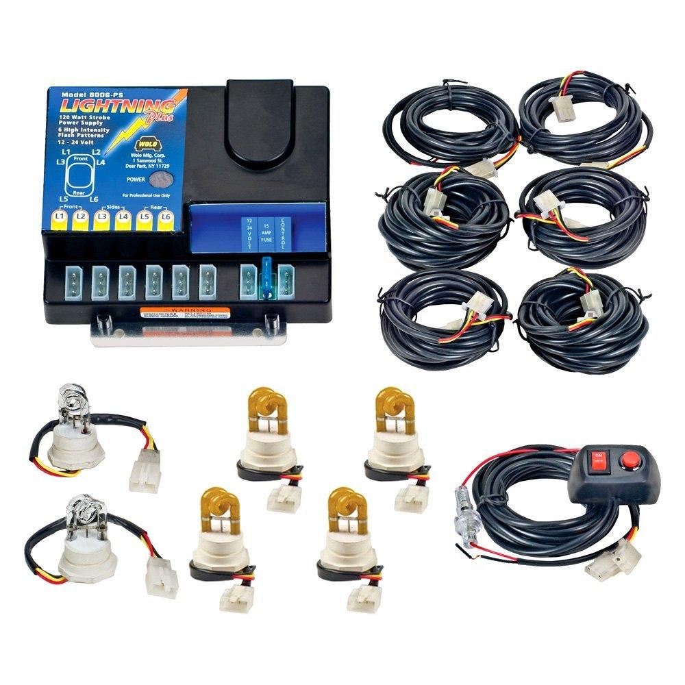 Wolo 174 Lightning Plus Hideaway Strobe Light Kit