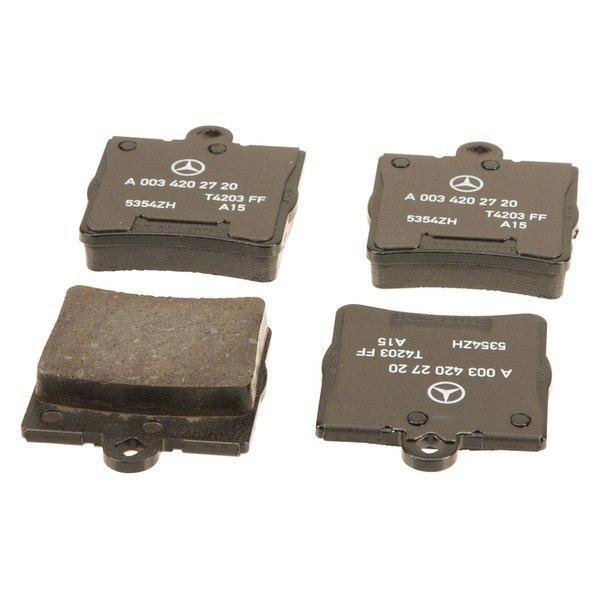 Genuine mercedes c class 2003 brake pads for Mercedes benz rotors and pads