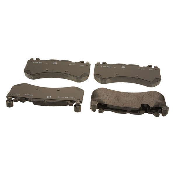 Genuine mercedes e class 2011 semi metallic disc brake pads for Mercedes benz e350 brake pads replacement