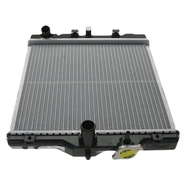 nissens honda civic 1 6l 2000 engine coolant radiator. Black Bedroom Furniture Sets. Home Design Ideas