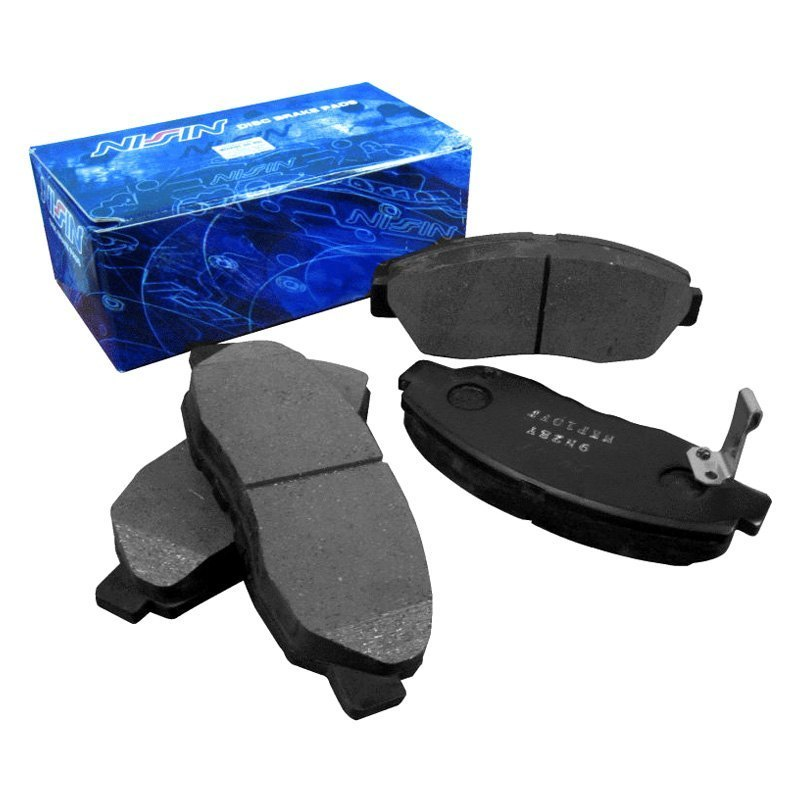 Honda Brake Pads >> Details About For Honda Civic 06 11 Nissin Semi Metallic Front Disc Brake Pads
