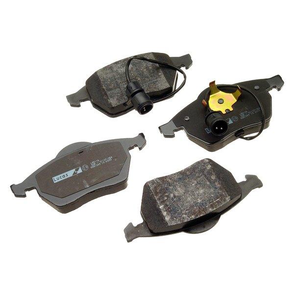 For Audi A6 Quattro 98 TRW W0133-1616669-TRW Semi-Metallic