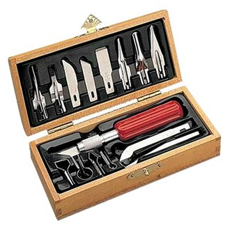 X Acto 174 X5175 Deluxe Wood Carving Knife Set
