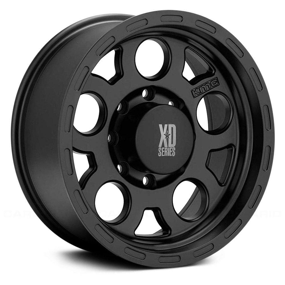 XD Series by KMC Wheels XD122 Enduro Matte Black Wheel 18x9//5x127mm, 0mm offset