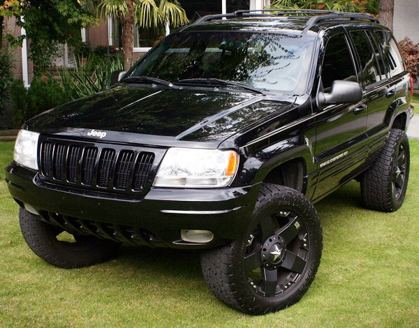 Black Jeep Cherokee With Black Rims Jeep Grand Cherokee With Black