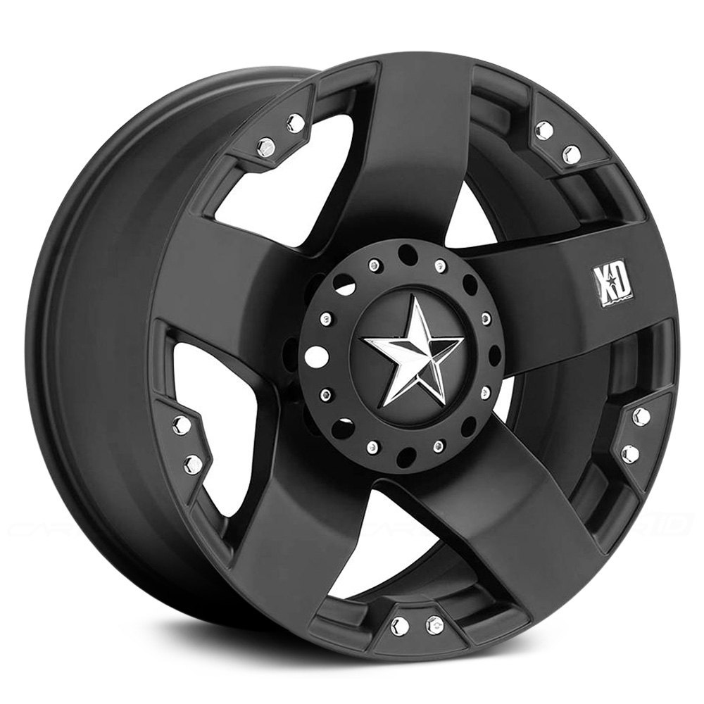Chevy Truck Wheels >> XD SERIES® XD775 ROCKSTAR Wheels - Matte Black Rims