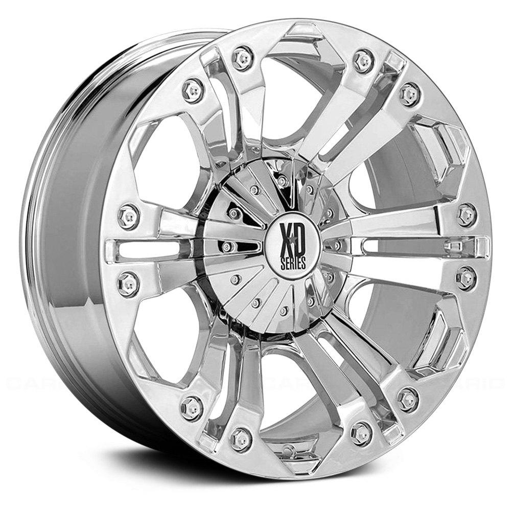 Xd Series 174 Monster Wheels Chrome Rims