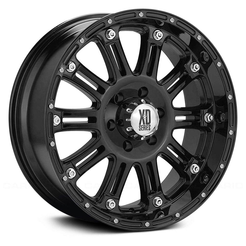 XD SERIES® ROCKSTAR 2 Wheels - Satin Black Rims