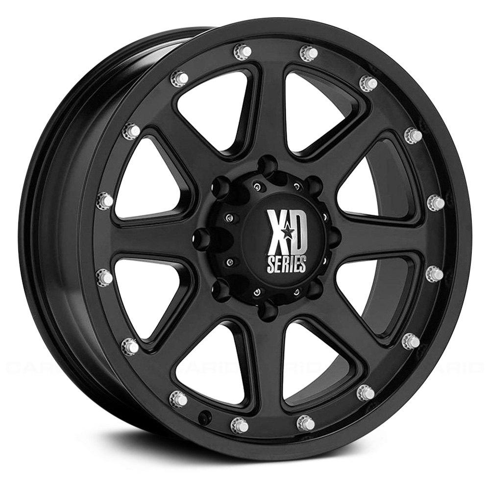 XD SERIES ADDICT Wheels Matte Black Rims