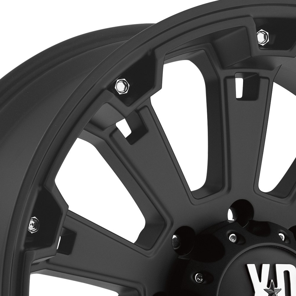 Xd Series 174 Misfit Wheels Matte Black Rims