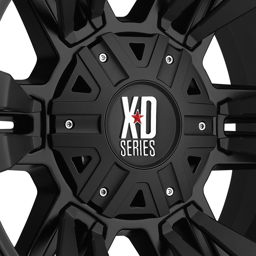 Xd Series 174 Monster 2 Wheels Satin Black Rims