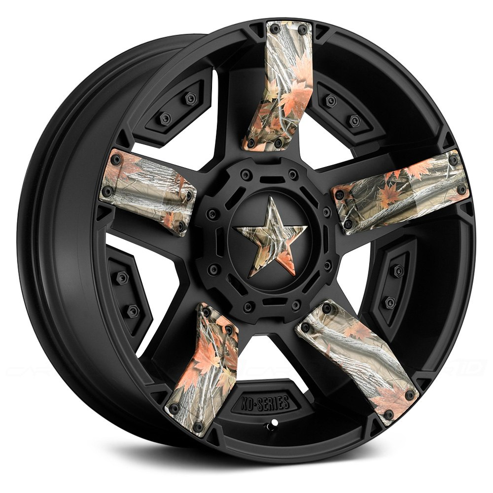 Xd Series 174 Xd811 Rockstar 2 Wheels Matte Black Rims