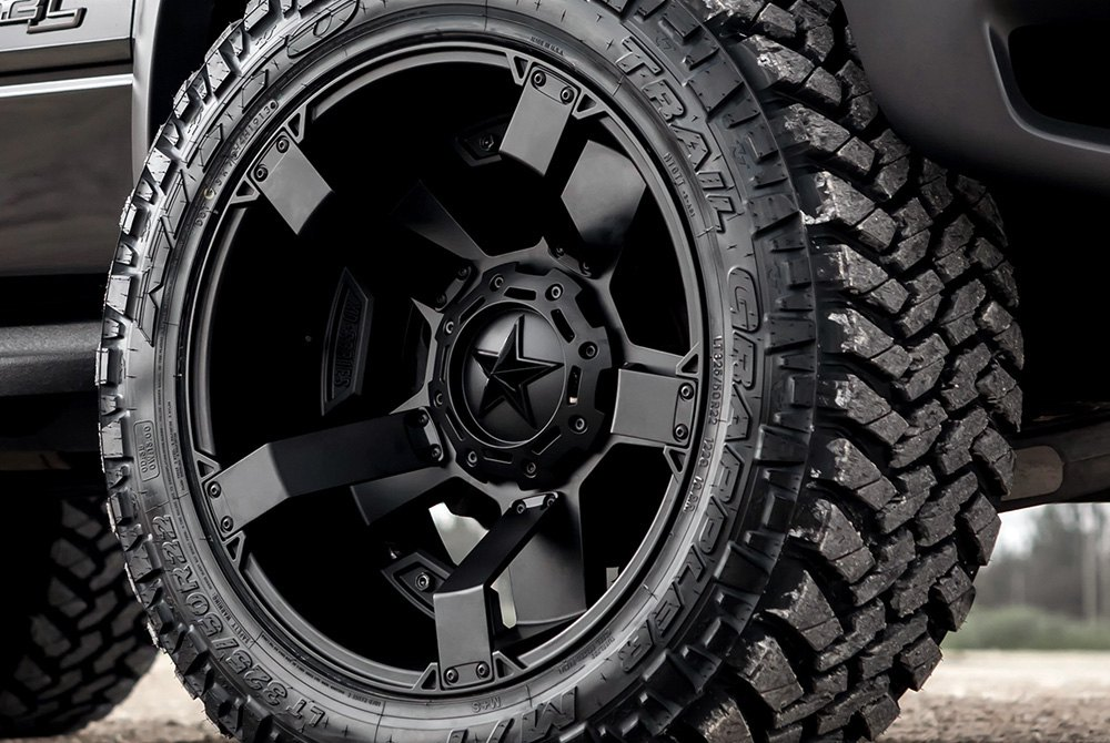 Xd Series 174 Rockstar 2 Wheels Satin Black Rims