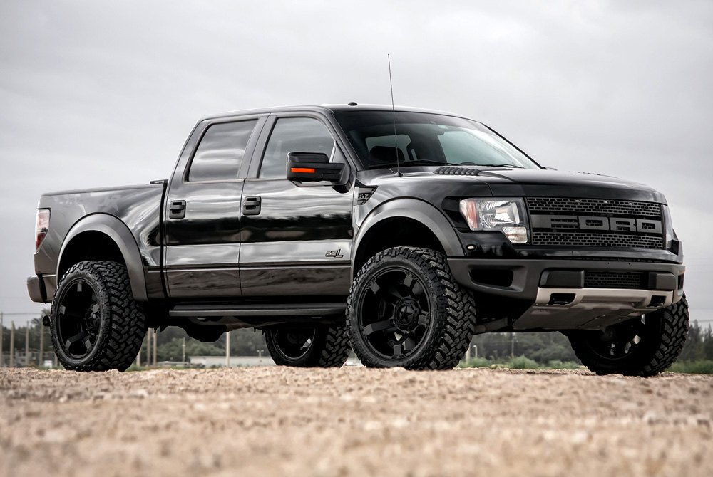 Xd Series Rockstar Ii Satin Black Ford F