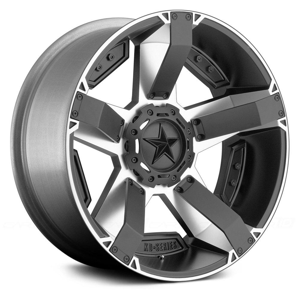 Xd Series Xd811 Rockstar 2 Wheel 17x9 12 8x180 13081 Black